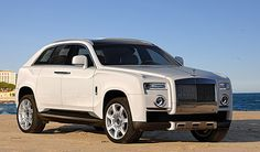 Visit The MACHINE Shop Café... ❤ Best of SUV @ MACHINE... ❤ (2015 Rolls Royce SUV Concept)