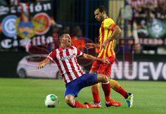 Atlético de Madrid, 1 - F.C. Barcelona, 1