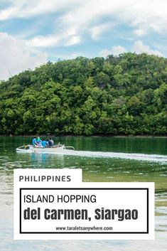 Island hopping in del Carmen, Siargao - Philippines