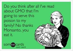 """Gmo - BOYCOTT & ONLY BUY ORGANIC IF YOU DON""""T WANT POISON!!! Gmo Food Ingredients, Food Education, Food Eating Clean, Gmo Free, Real Healthy, ...