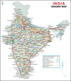 Railway file pdf indian map