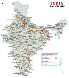 Indian Railway Map Pdf File