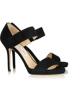 JIMMY CHOO Alana suede sandals $750.00 http://www.net-a-porter.com/products/496887
