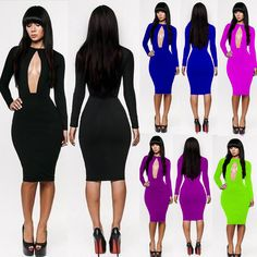 Want a really bodycon evening dress for your party? in stock $20  www.shoppingwishes.com
