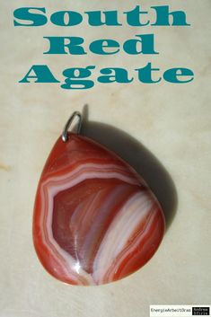 * 36x30x7 mm roter Süd ACHAT Anhänger red Southern Agate Pendant * Gemstone Pendants, Red Agate, Gemstones, Ebay, Red, Gems, Jewels, Minerals