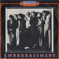 """For Sale - Madness Embarrassment - Pink Label - P/S UK  7"""" vinyl single (7 inch record) - See this and 250,000 other rare & vintage vinyl records, singles, LPs & CDs at http://eil.com"""