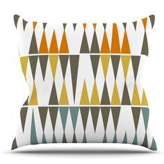 KESS InHouse Diamond Kilim by Pellerina Design Throw Pillow