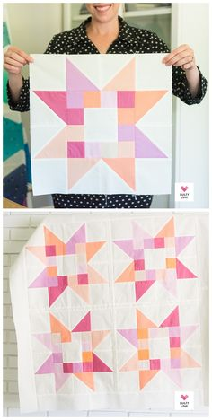 Quilty Stars Quilt - The solid baby ones - Quilty Love.  Scrappy baby quilt pattern.  #starquilt #babyquilt #babystarquilt   #scrappyquilt #scrapquilt #solidsquilt #scrapfriendlyquiltpattern Scrap Quilt Patterns, Modern Quilt Patterns, Patchwork Quilting, Scrappy Quilts, Easy Quilts, Pattern Blocks, Easy Baby Quilt Patterns, Charm Pack Quilt Patterns, Traditional Quilt Patterns