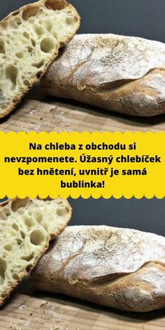 Slovak Recipes, Bakery, Recipies, Food And Drink, Pizza, Cooking Recipes, Sweets, Bread, Meals