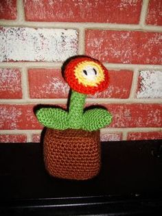 Amigurumi Fire Flower : 1000+ images about Mario: Fire Flower on Pinterest Super ...
