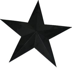 Craft Outlet Tin Star Wall Decor, 18-Inch, Black