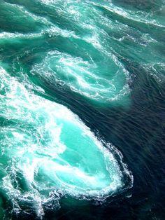 Ocean swirls
