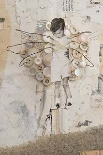 ⌼ Artistic Assemblages ⌼ Mixed Media & Collage Art - Some, Found (detail) by Lisa Kokin Mixed media book collage Photography Sketchbook, Mixed Media Photography, Photography Hacks, Photography Backdrops, Collage Art Mixed Media, Collage Collage, Art Brut, Photocollage, Assemblage Art