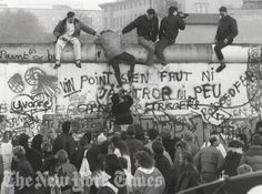 Fall of The Berlin Wall - 1989, NSAP492 from New York Times Store