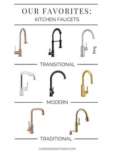 In rooms with lots of design decisions that are meant to be long-term, finishes . In rooms with lots of design decisions that are meant to be long-term, finishes like hardware and k Gold Kitchen Faucet, Gold Faucet, Best Kitchen Faucets, Kitchen Hardware, Bathroom Hardware, Kitchen Fixtures, Bathroom Fixtures, Bathroom Taps, Commercial Faucets