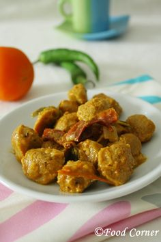Sri Lankan Soya Meat Curry This Soya Meat Curry is cooked using Raw Curry Powder. I usually cook soya meat at home as it is a good source of veggie protein. However I always buy plain soya chunks without the spice and flavor sachets. In that way I am sure it is a dish …
