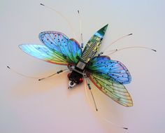 The Large Triple Antennaed Beauty by DewLeaf on Etsy