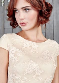 Capped sleeved bridal top with a flattering boat shaped neckline and invisible zip. A perfect, relaxed bridal top to twin with any bridal separate. The Watkins top features here with the Watkins skirt. Blush Bridal, Bridal Lace, Top Wedding Trends, Wedding Ideas, Bridal Tops, Bridal Jumpsuit, Bridal Skirts, Bridal Separates, Alternative Wedding Dresses