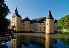 The moated castle (wasserburg) Gudenau is one of my favorite lesser-known German castles.