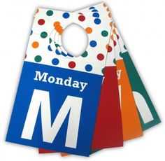 Tip: Hang Tags Help!  Streamline and de-stress your mornings!  Put days of the week hangtags on your kids' clothes (or maybe your own). http://twitpic.com/ayx2yv