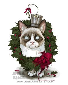 Have a very grumpy Christmas.