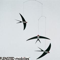 【フレンステッド モビール】北欧オーナメントモビール 24/ Swallow Mobile ツバメ