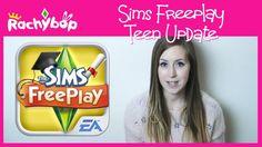The Sims Freeplay Teens Update!