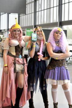 Princess Bubblegum, Fiona and Lumpy Space Princess!