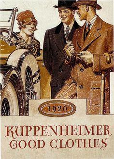 kuppenheimer Ad  -  1926  JC Leyendecker