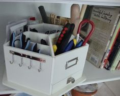 lazy susan craft caddy