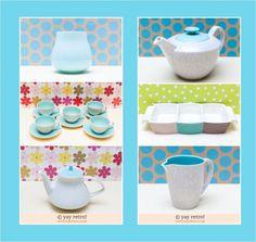 Buy Ice Green Poole Pottery Online - Retro, Vintage China, Glassware, Kitchenalia, fabrics and books - yay retro!
