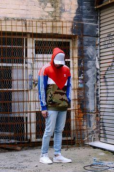 Adidas Originals ES Oth Hoody Red camo royal  152e1551e