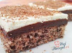 Bombastický hrnkový zákusek pro všechny milovníky čokolády   NejRecept.cz Vanilla Cake, Cake Recipes, Cheesecake, Snacks, Food And Drink, Cookies, Ethnic Recipes, Creme, Brownies