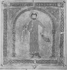 11. Alexandriai Szent Péter diakónus, zománckép. Fodor Zoltán: Szűrések, 2017. 61. oldal, 11. kép.