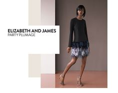 Party plumage: contemporary dresses from Elizabeth and James and more.