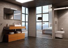 Made to Order incorpora Room 02. Su concepto es sencillo: elementos modulares apilables que recuerdan la estructura de un edificio en el que cada piso está creado para modificarlo a gusto del usuario.    Dos escuadras laterales de acero inoxidable que hacen la función de toallero son el origen de… Room 02 que consta de 3 elementos básicos independientes:   •En el piso inferior, una balda de madera disponible en distintas medidas.  •En el piso intermedio, un módulo cajón con espacio de…