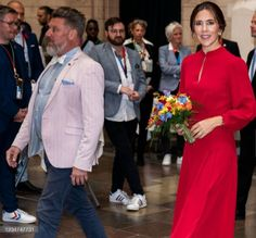 """Crown Princess Mary of Denmark at the official opening of """"Copenhagen 2021"""" Copenhagen Pride, Copenhagen City, Danish Royal Family, Danish Royals, Crown Princess Mary, Denmark, Fashion, Moda, Fashion Styles"""