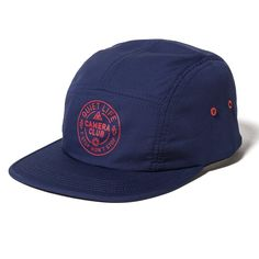 Wont Stop 5 Panel Hat Navy