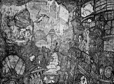 Neil Pittaway #etching #RE