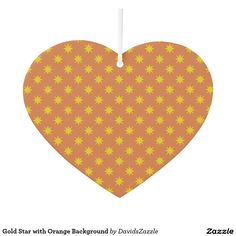 Gold Star with Orange Background Air Freshener Available on many products! Hit the 'available on' tab near the product description to see them all! Thanks for looking!  @zazzle #art #star #pattern #shop #auto #automotive #car #mats #front #rear #air #freshener #accessory #accessories #enthusiast #fashion #style #women #men #shopping #buy #sale #gift #idea #lifestyle #fun #sweet #cool #neat #modern #chic #color