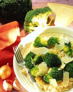Arroz con verdura y queso