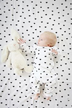 Tiny Cats Onepiece - Black