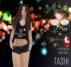 TASHI Amilia | We are happy to be part of the Eggs & Bunnies event and we are releasing 2 items for this event  This event runs from March 27th until April 17th Landmark maps.secondlife.com/secondlife/Bleerslaw/190/161/1002  Happy Shopping Shinya Tandino