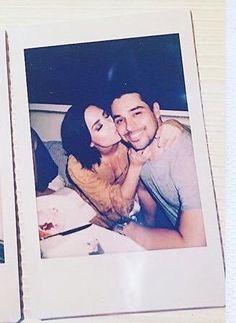 Demi and Wilmer #somethingbigiscoming16 #CONFIDENT