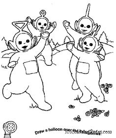 My babies LOVED the Teletubbies