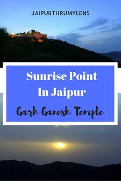 Sunrise Point In Jaipur Garh Ganesh Temple #jaipur #sunrispointinjaipur #sunrisepoint #garhganeshtemple #garhganesh #sunrise #nature #travel #morning #sun