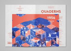 Quaderns Magazine: Editorial Design by TwoPoints.Net   Inspiration Grid   Design Inspiration