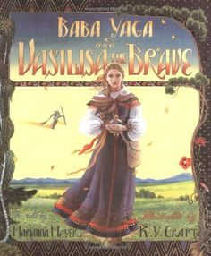 Baba Yaga and Vasilisa the Brave by Marianna Mayer, http://www.amazon.com/dp/0688085008/ref=cm_sw_r_pi_dp_db2Yqb1CZCKHY