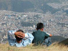 I love seeing Quito from Pichincha. Shoot, I just love Pichincha.