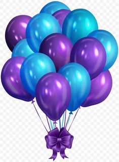 purple and blue balloons illustration, Balloon Blue , Blue Purple Bunch of Balloons transparent background PNG clipart Happy Birthday Celebration, Happy Birthday Balloons, Happy Birthday Images, Happy Birthday Greetings, Purple Balloons, Metallic Balloons, Balloon Illustration, Happy Birthday Wallpaper, Birthday Clips